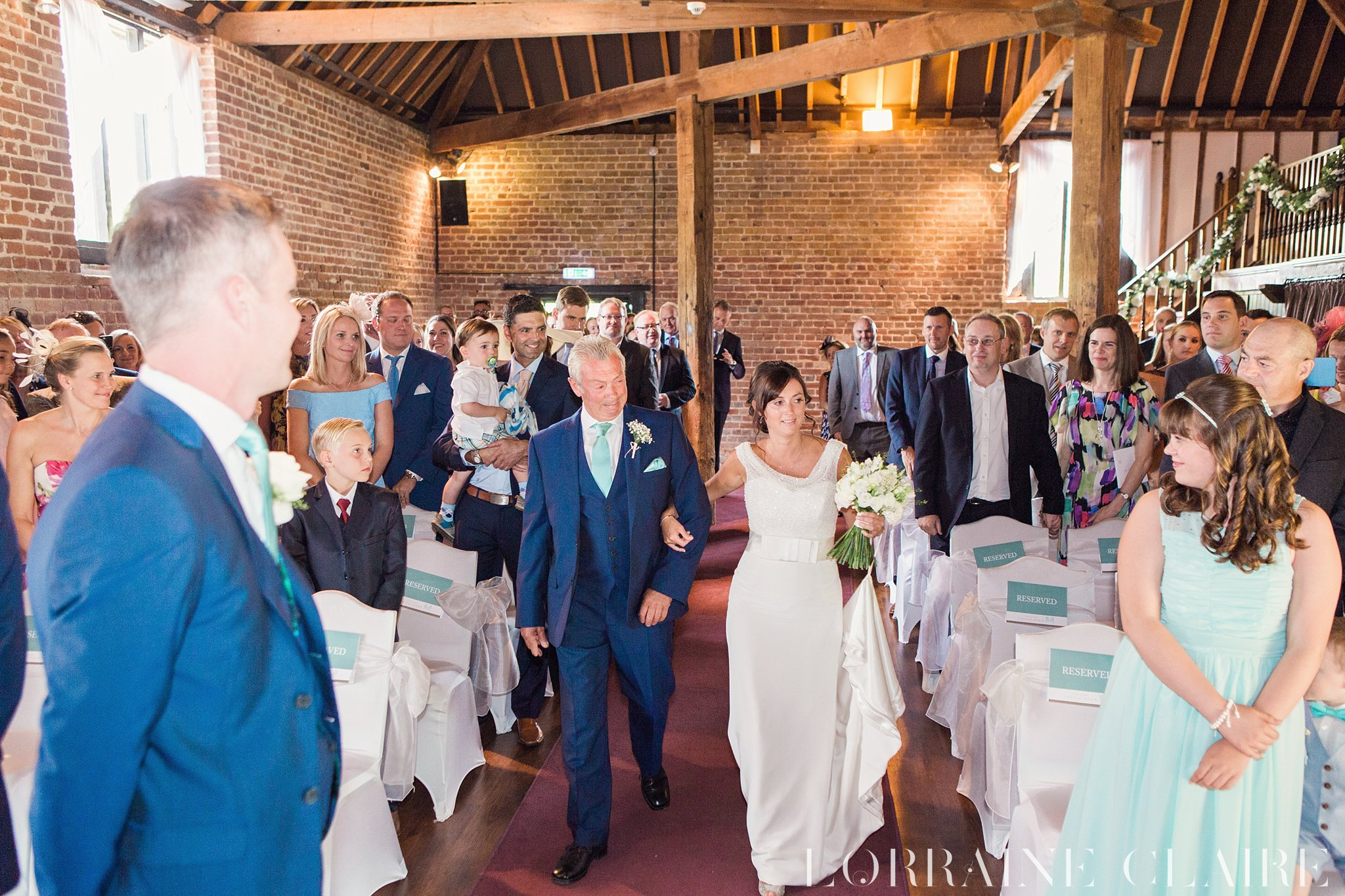 Cooling Castle Barn Wedding Photography_0018