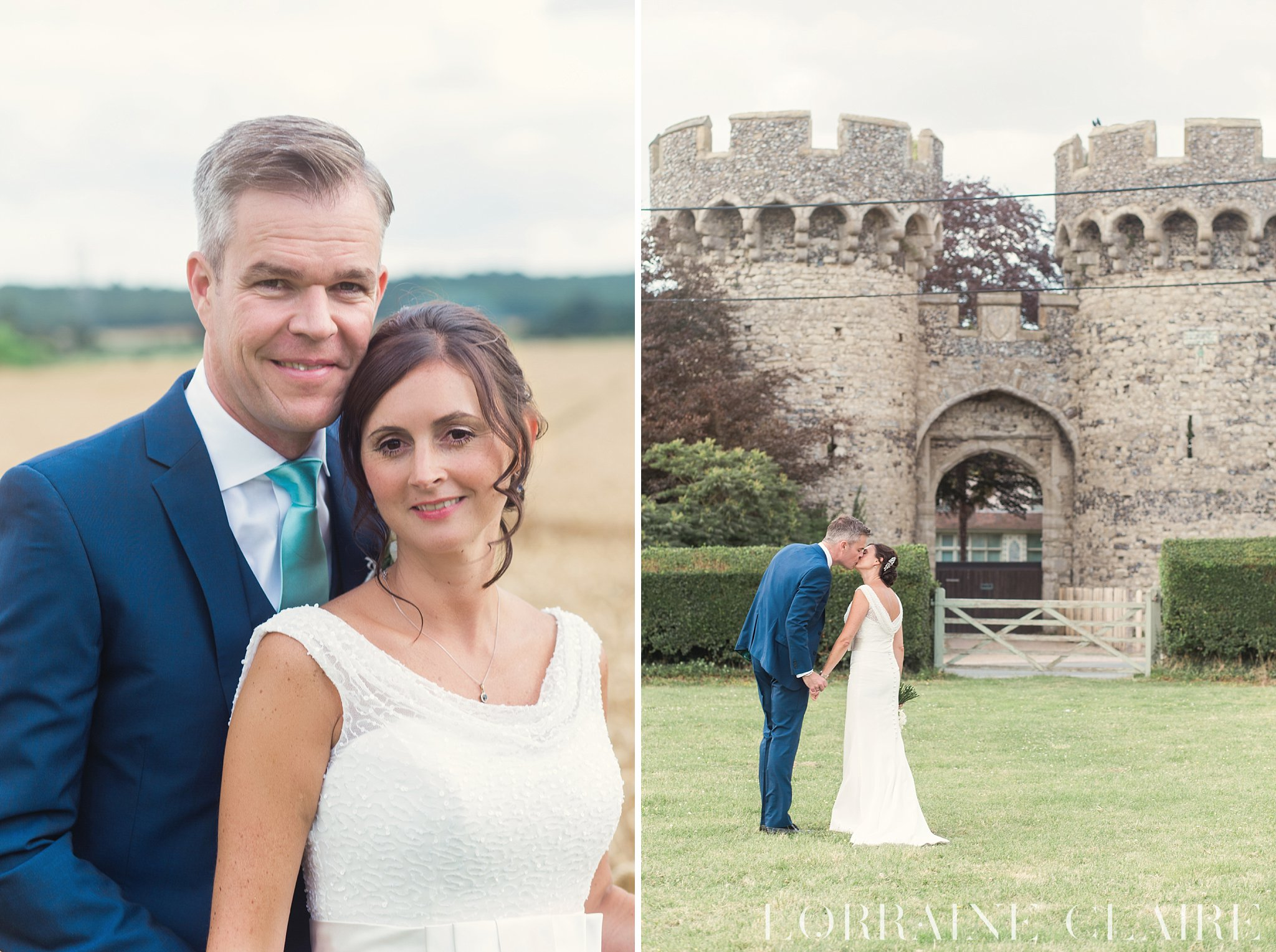 Cooling Castle Barn Wedding Photography_0034
